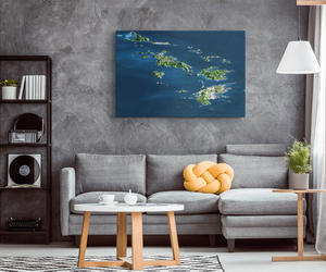 BVI Aerial Wall Canvas
