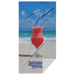 Tropical Drink Beach Towel