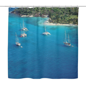 Tobago Cays Shower Curtain