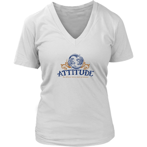 Attitude - Mermaids V-neck