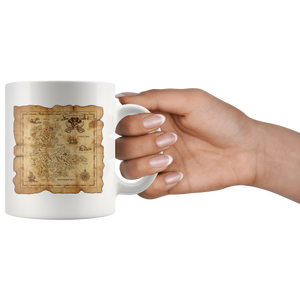 Treasure Map Mug