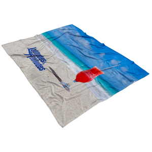 Tropical Drink Fleece Blanket
