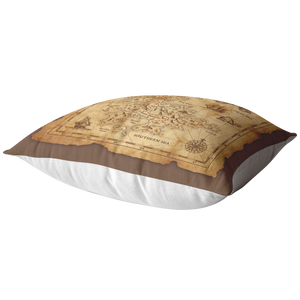 Treasure Map Pillow