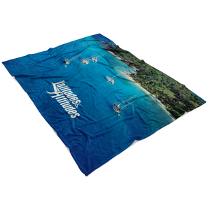 Tobago Cays Fleece Blanket