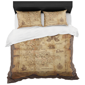 Treasure Map Bed Set