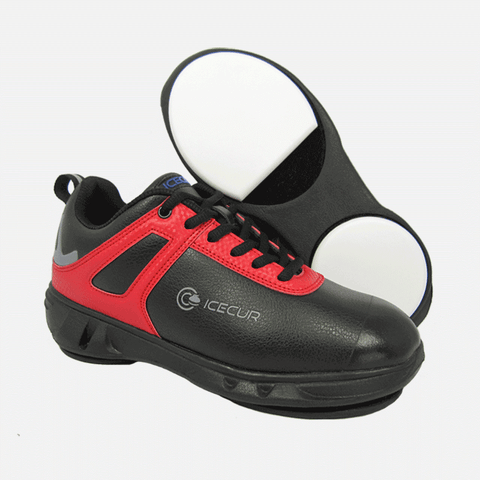 ICECUR WS650 Women's Curling Shoes | Shoes for Olympic Curling With Reliable Fit for Both Teens & Adults | Featuring Exclusive PTFE+ANTEX Grippers, Microfiber Uppers & Thinsulate Ice Protection