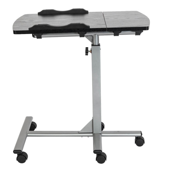 Home Use Multifunctional Lifting Movable Computer Desk Black