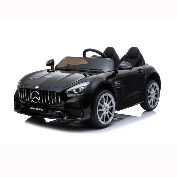 BENZ GT Ride On Car Dual Drive Remote Control Black
