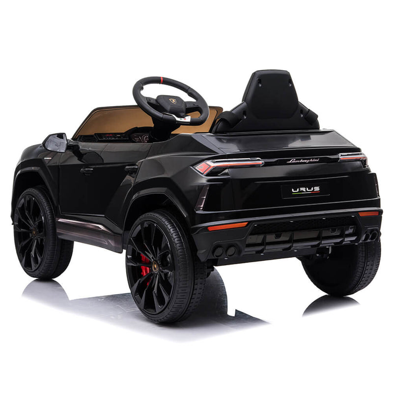 Small Lamborghini Ride On Car Dual Drive Remote Control Black