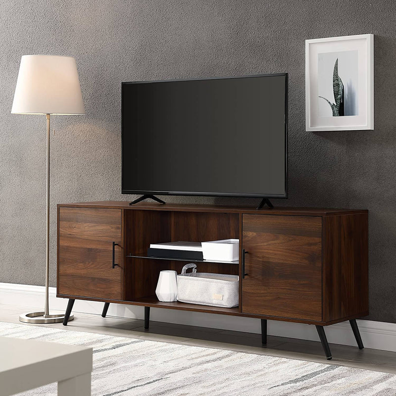 Modern Wood Universal Stand for TV's Screen Cabinet Living Room Storage