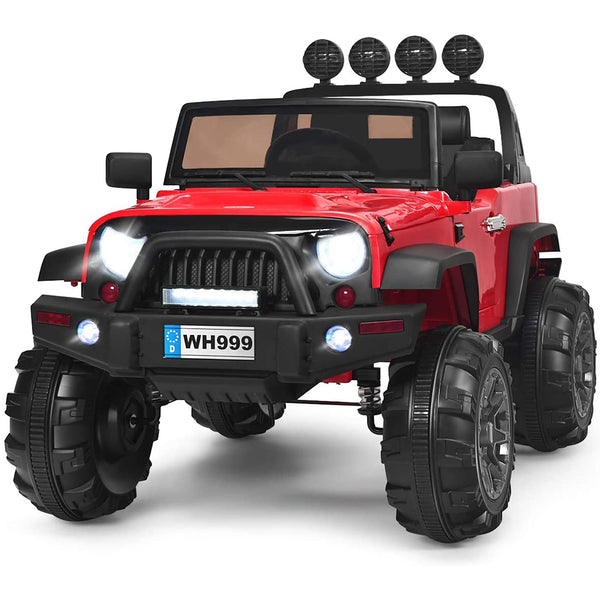 Kid Ride On Car Truck SUV With Parental Remote Control Red