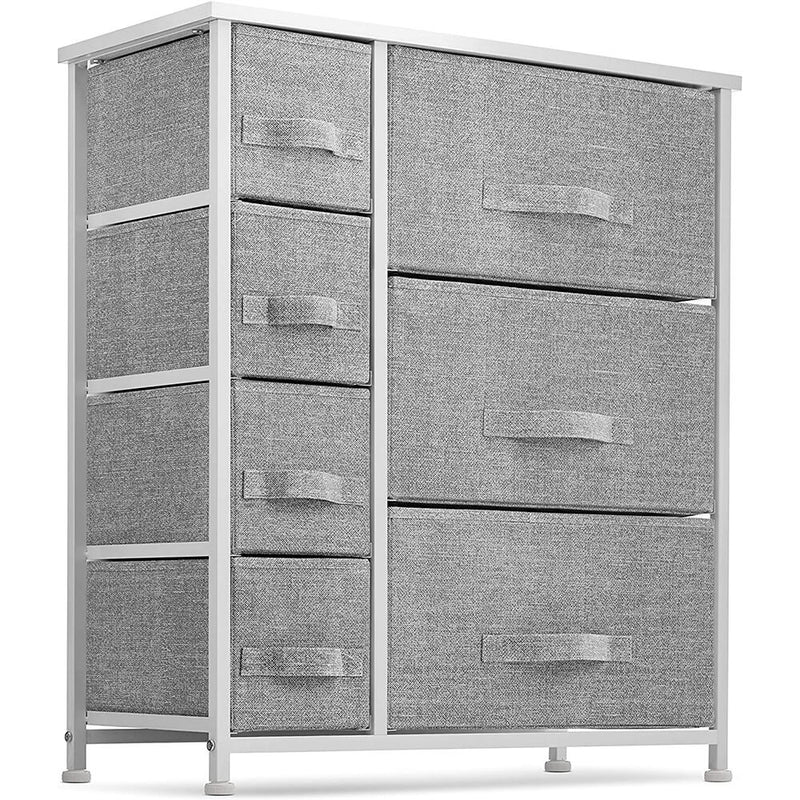7 Drawers Fabric Dresser  Furniture Storage Tower Unit for Bedroom, Hallway