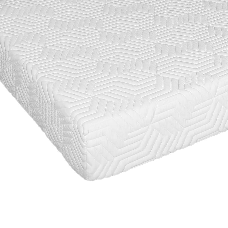 Three Layers Cool Medium High Softness Cotton Mattress with 2 Pillows Twin Size