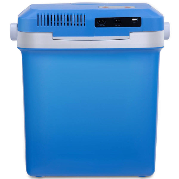 26L Electric Portable Fridge Cooler & Warmer, AC/DC Portable Thermoelectric System