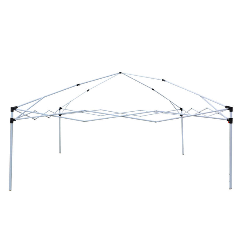 Homhum Canopy Tent 10 x 10 ft Outdoor Waterproof Tents with Carry Bag Khaki