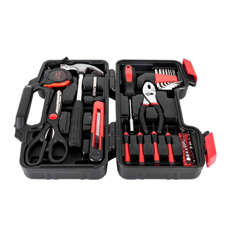 39-Piece Tool Set General Household Home Repair Hand Tools Kit