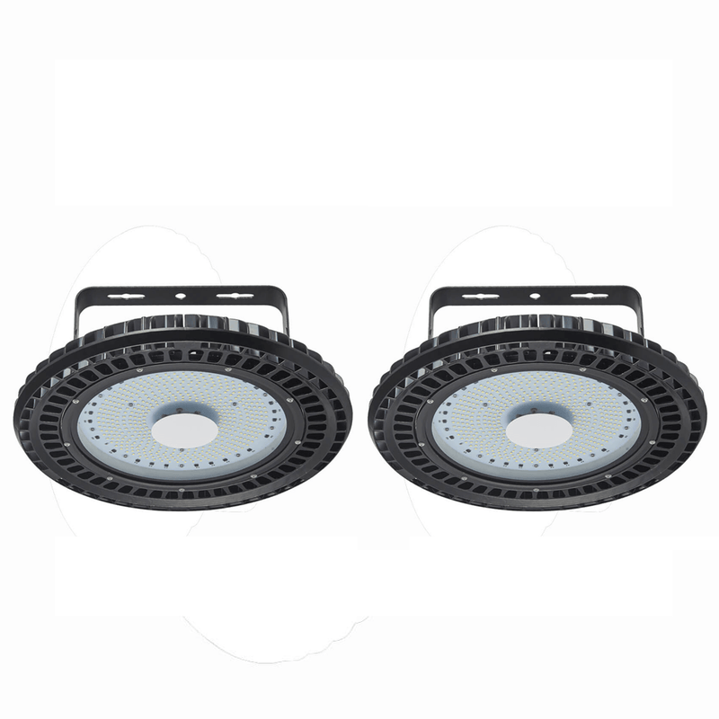 250W UFO LED High Bay Light Industrial lamp Factory Warehouse Shed Lighting 2Pcs