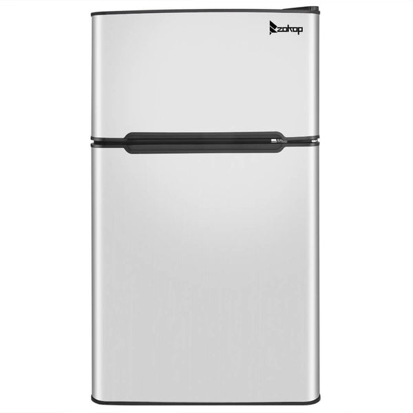Household Refrigerator Double Doors Black