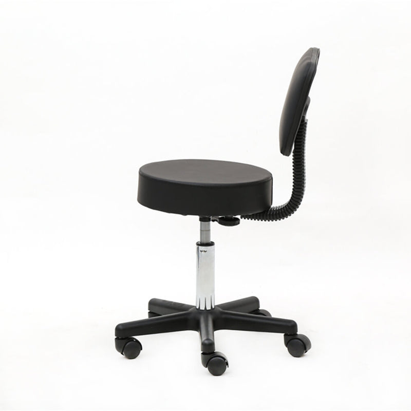 Adjustable Hydraulic Rolling Swivel Salon Stool Chair Black