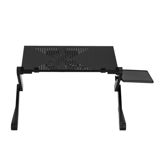 360-Degree Rotation Multifunctional Folding Table with Fan & Mouse