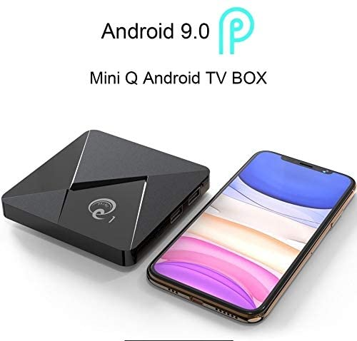 Newest Mini Q Bluetooth 4K GPU 2.4G/5G Android 7.1 Box Network Smart Player TV Box All-H6 32G/64G WiFi BT HD+ TV Box