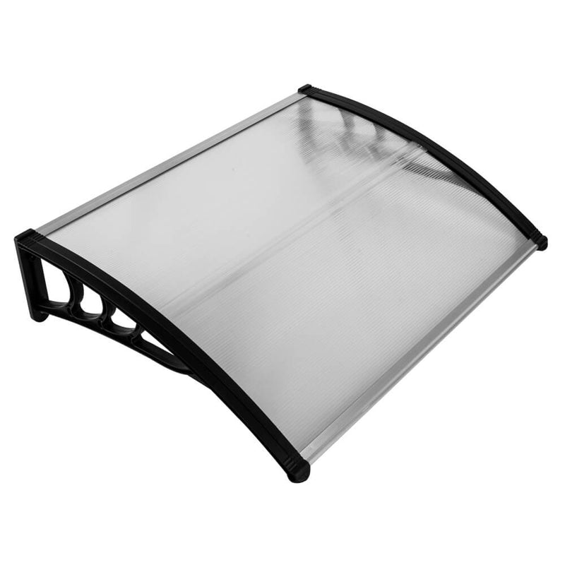 "40"" x 31"" Front Door Awnings Canopies, Modern Polycarbonate Window Awning Cover, Patio Eaves Canopy Decorator"