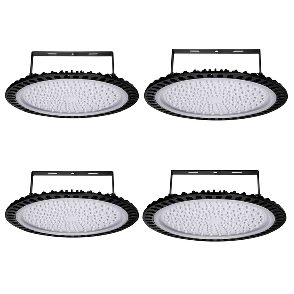 500W Super Bright Security Light Commercial Industrial Lighting High Bay Light 4 Pcs