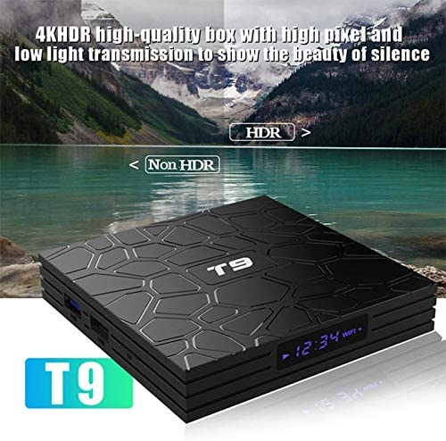 T9-RK3318 Network TV Set-top Box Android 9.0 4k HD Network Smart Video Player Smart TV Box (4+32GB/4+64GB)