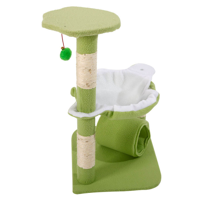 Stable Cute Sisal Cat Climb Holder Cat Tower Lamb Green 28 inches