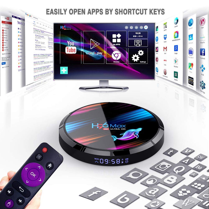Smart TV Box Android 9.0 Ultra HD Smart Player