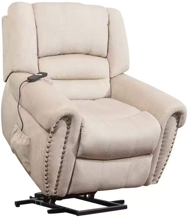 Large Power Lift Chair Recliner Sofa for Elderly Help Standing with Remote Control