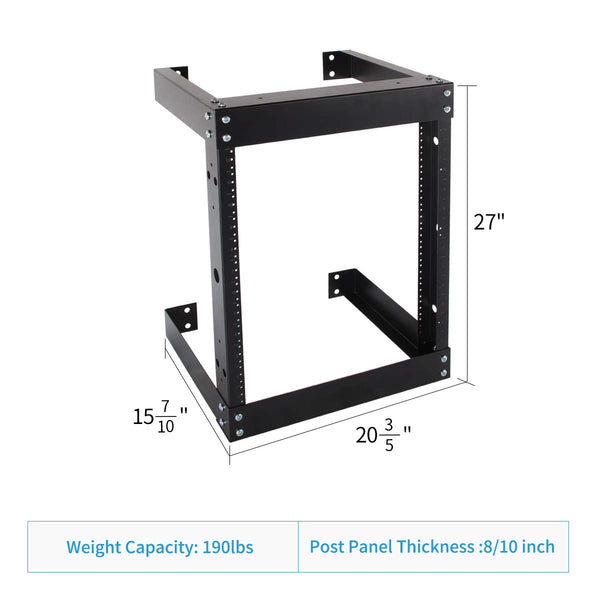 12U Network Rack Net Open Frame Server Rack