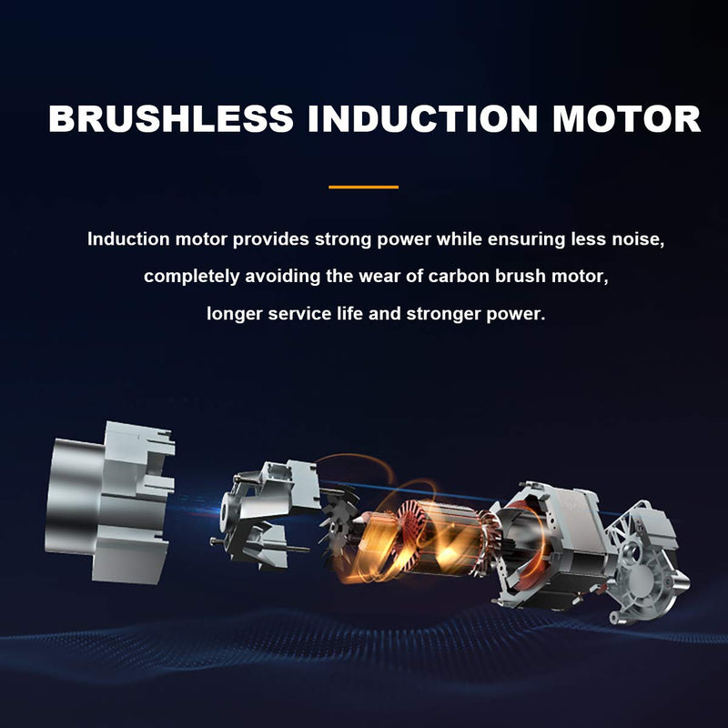 Electric Power Washer Brushless Induction Pressure Washer 5 Spray Tips