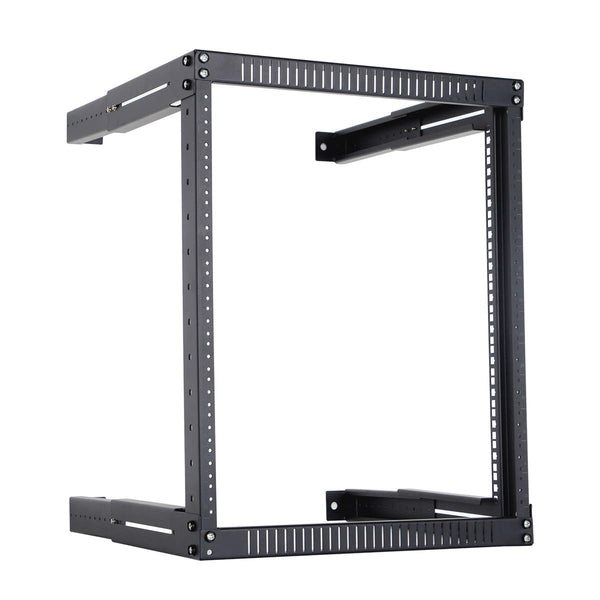 12U Network Rack Open Frame Server Rack Adjustable Depth