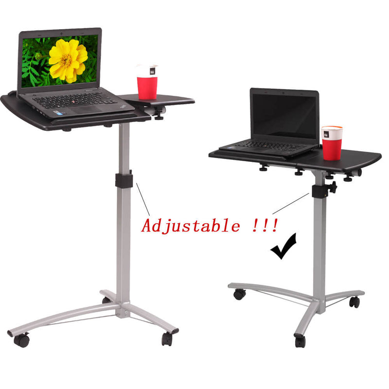 Home Use Multifunctional Lifting Computer Desk Black