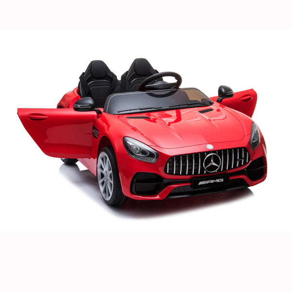 BENZ GT Ride On Car Dual Drive Remote Control Red