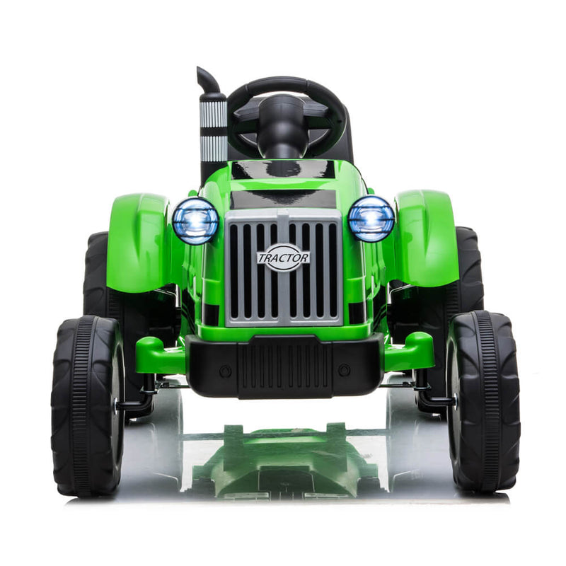 John Deere Ground Force Toy Tractor with Trailer For Kids Green