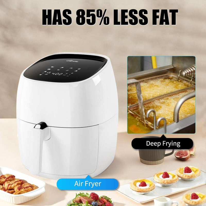 Power Air Fryer 8 in 1 Non Stick White