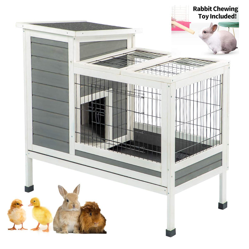 Rabbit Hutch Pet House  Indoor & Outdoor for Small Animals
