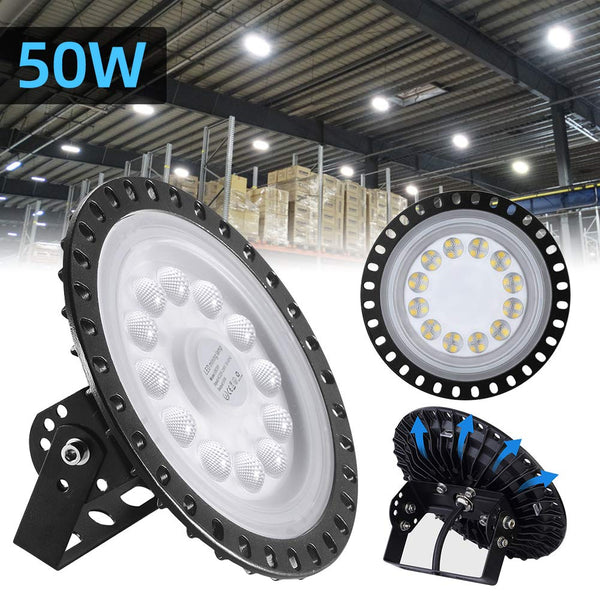 50W Commercial Bay Lighting Garage Gym Light Warehouse Industrial Lighting