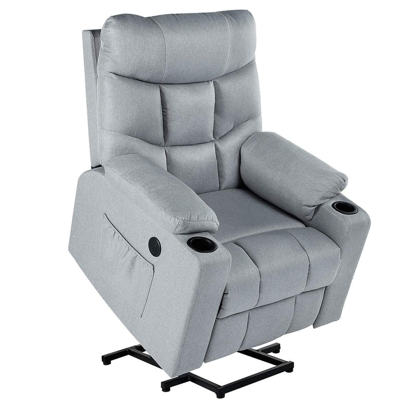 HomHum Power Lift Chair Electric Recliner for Elderly Heated