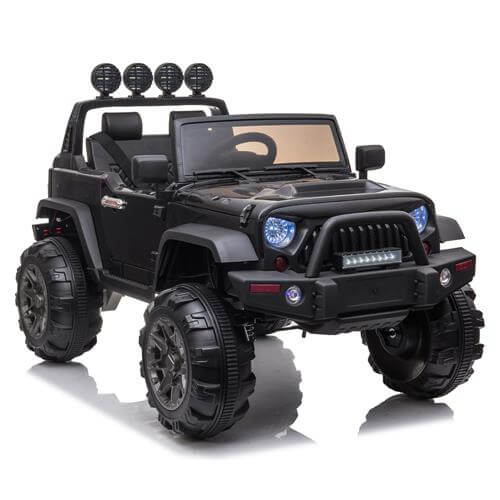 Kid Ride On Car Truck SUV With Parental Remote Control Black