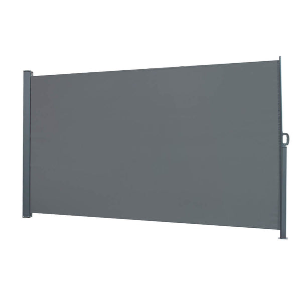 Outdoor Windshield Isolation Canopy in Dark Gray