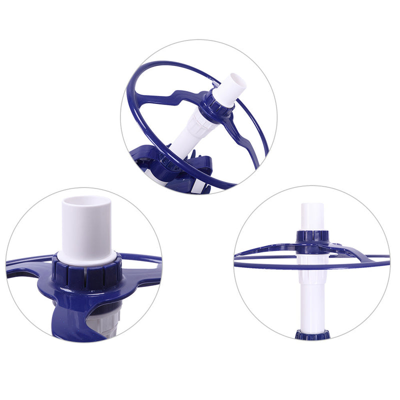 Automatic Pool Washer 08 High-End Devices with 10PCS Blue Hose
