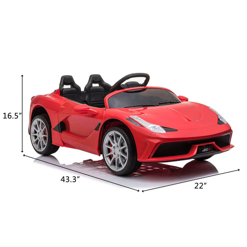 Kids Electric Ride On Car with Remote Control Red