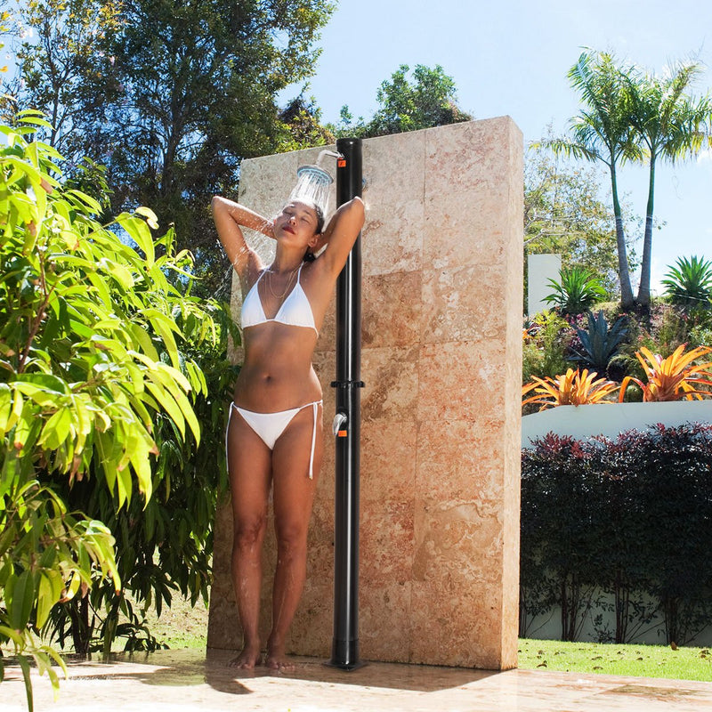 Outdoor Solar Showers with Shower Head and Faucet Pool Shower