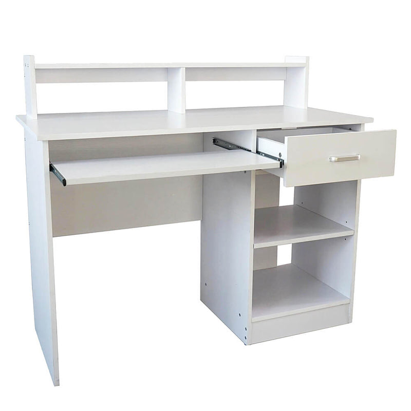 General Style Modern E1 15MM Chipboard Computer Desk White