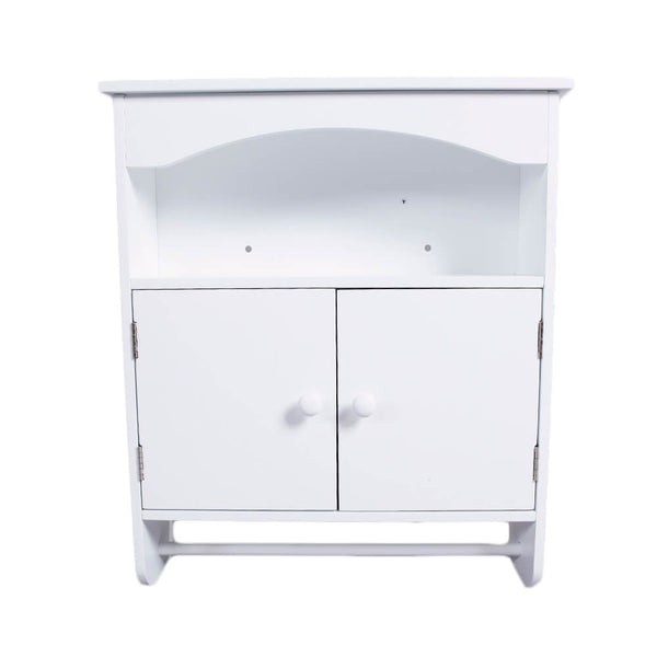 Bathroom Wall Cabinet Corner Table White