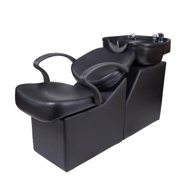 Backwash Barber Chair Shampoo Bowl Sink Unit Station Spa Salon Equipment
