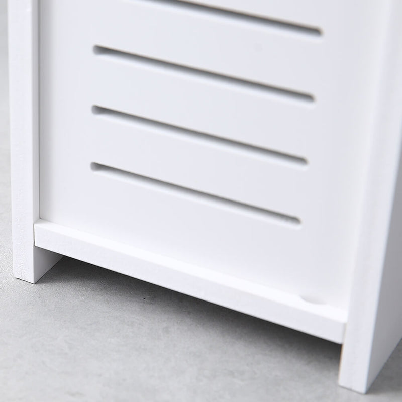 Paper Towel Storage Narrow Cabinet 26.5inches High Pvc